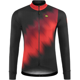 Alé Cycling Solid Pulse Longsleeve Jersey Men black-bordeaux-red